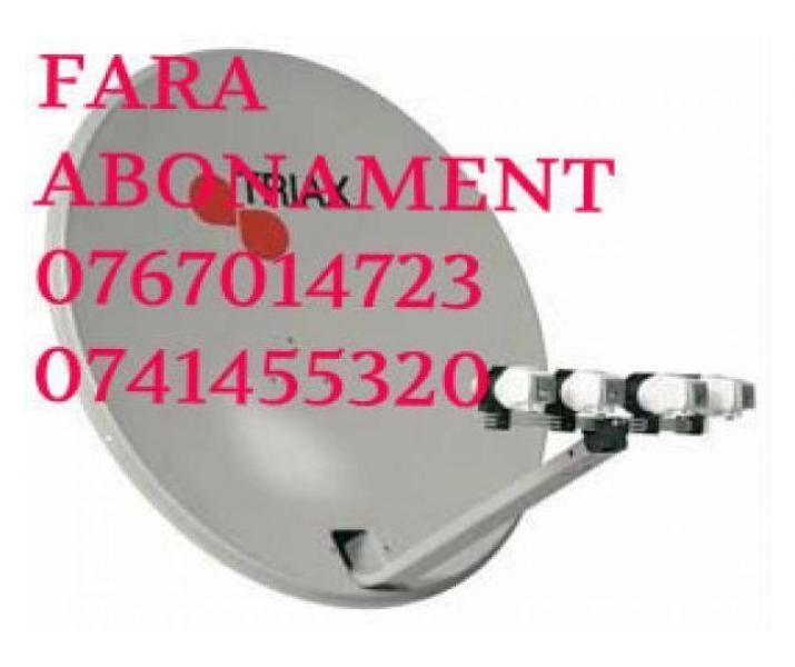 ANTENE FARA ABONAMENT-0767014723