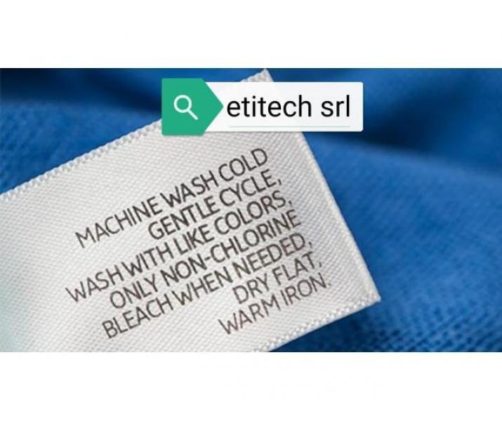 Etichete textile