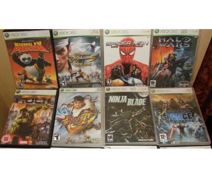 DVD-uri jocuri XBOX 360 / Playstation 2