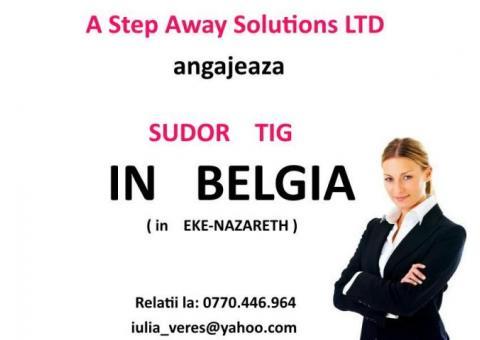 Sudor TIG - Belgia