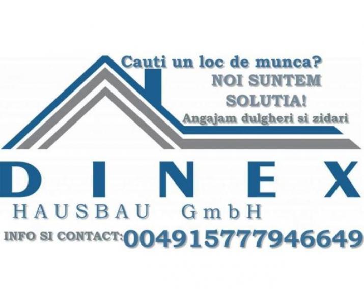 Locuri de munca in constructii Dinex