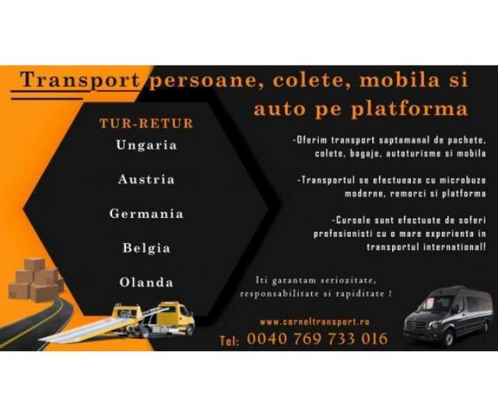 Transport pesoane si pachete Corneltransport