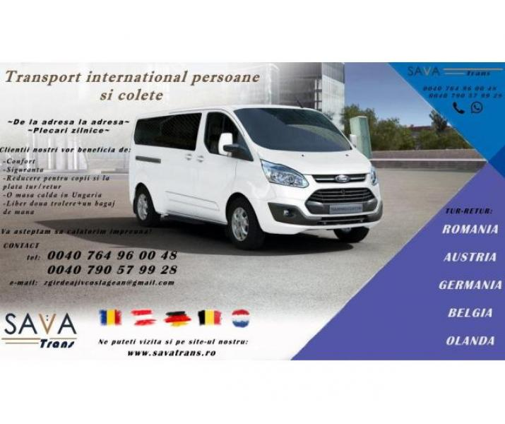 Transport Germania Belgia Olanda Sava Trans