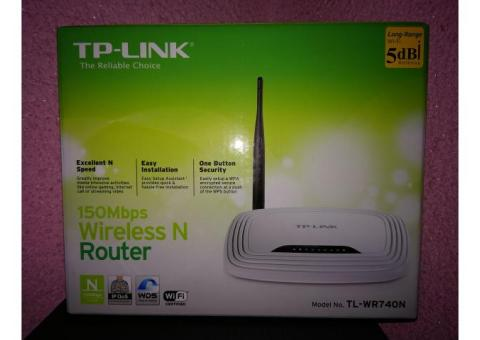 Router wireless N TP-LINK(TL-WR740N) + Switch REPOTEC(RP-1708K) CADOU!