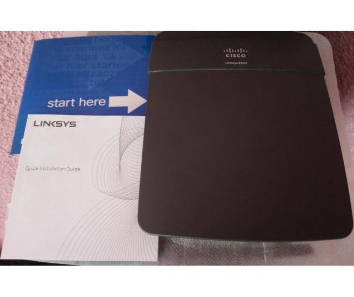 Router Wireless Cisco Linksys E900, N 300 Mbps