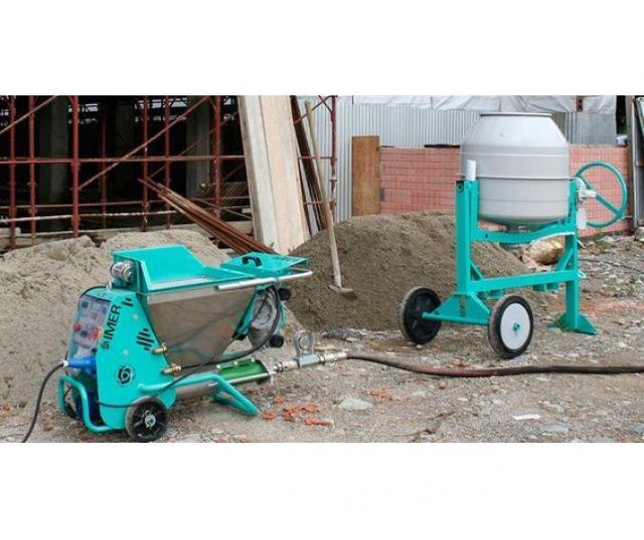 Tencuiala mecanizata tradițională,clasica (Ciment+var+nisip)